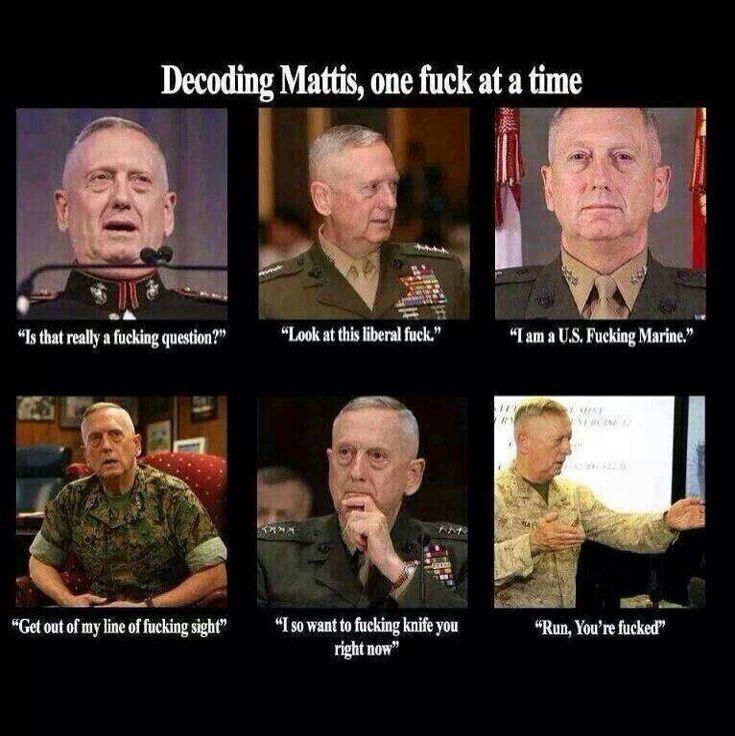 Gen. 'Mad Dog' Mattis