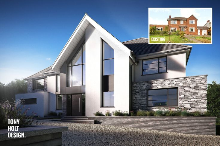 Tony Holt Design : Self build remodel of existing house in Hertfordshire