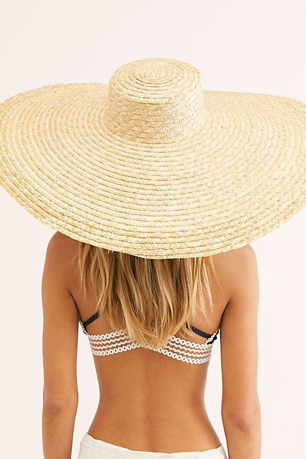 ac5a9f21a Under Cover Wide Brim Straw Boater Hat in 2019   MINDY MAE'S MARKET ...
