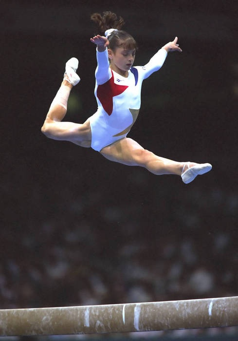 a look at five facts about dominique moceanu Gold medalist dominique moceanu warned us 10 years ago about abuse in usa gymnastics the unions look after their salaries and also personal safety.