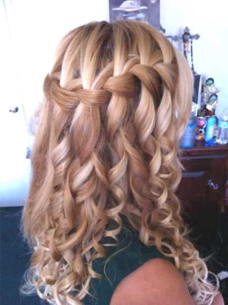 70 Best Haare Images On Pinterest Cute Hairstyles Braided Updo