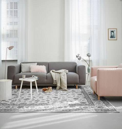 Stijlvolle rustige woonkamer scandinavische stijl interieur algemeen pinterest living - Sofa stijl jaar ...
