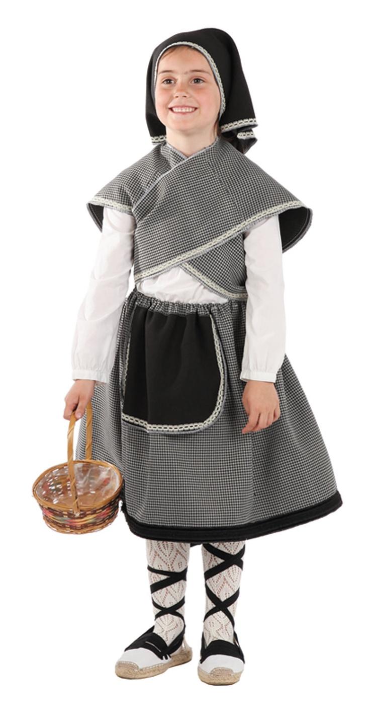 Traje de casta era disfraces para ni as pinterest - Disfraces para bebes nina ...