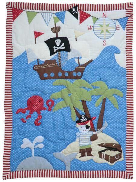 Manta patch pirata