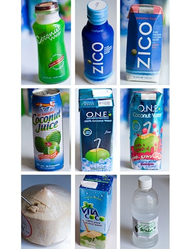 I love coconut water...plus Rihanna drinks it so you know its good  ; )