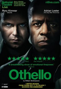 A modern telling of Shakespeare's Othello, Academy Cinema, 20 Oct.