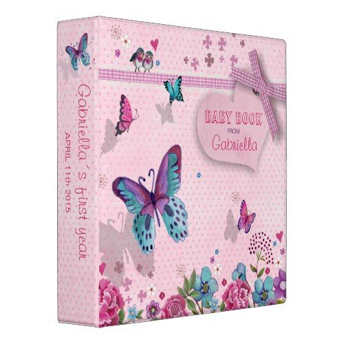 Butterfly photo album baby Disney Family Recipes, Crafts and Activities