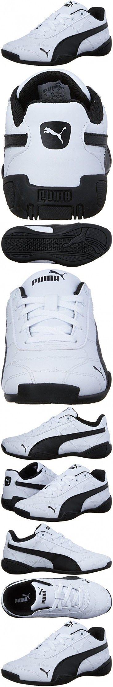 PUMA Tune Cat 3 Kids Sneaker (Little Kid), Puma White/Puma Black, 13 M US Little Kid
