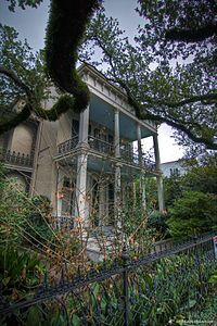 Anne Rice residence, 1239 First St., New Orleans. Inspiration for Mayfair Manor, home of the Mayfair Witches