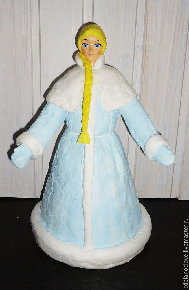 Мастерим Снегурочку для советского Дедушки Мороза - Ярмарка Мастеров - ручная работа, handmade