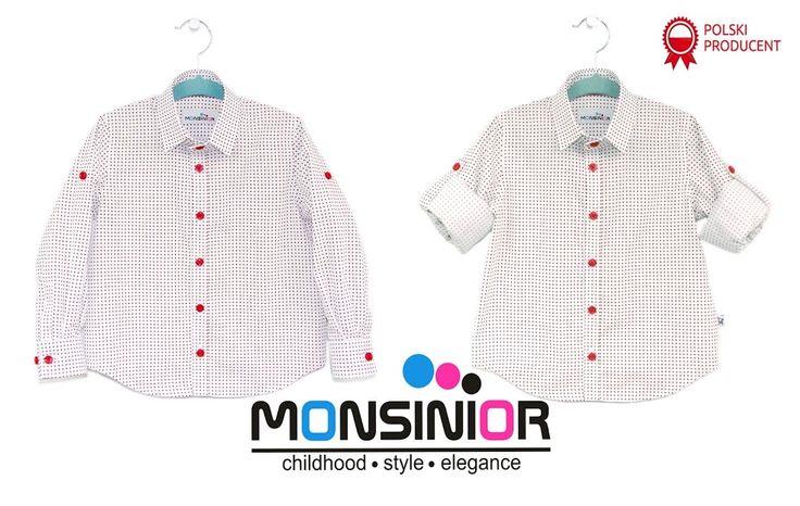Model Patric Kids# Blouse and Shirt# Monsinior# Kolekcja koszul Monsinior # dla dziewczynek # Dla Chłopców#