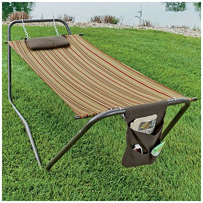 Wilson Amp Fisher 174 Fabric Hammock With Stand At Big Lots