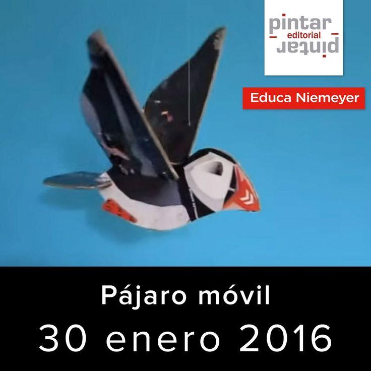 30 de enero: Cómo hacer un pájaro móvil