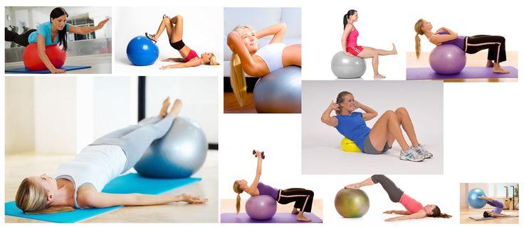 Thera-band gimnasztikai labda, fitnesz labda sokoldalú gyakorlatokhoz otthon, fitnesz teremben, pilátesz órán. hamarosan tavasz - addigra legyen: feszes farizom, hasizom, hátizom, combizom