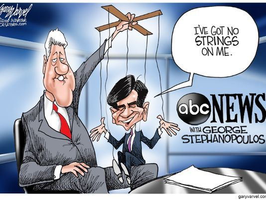George Stephanopoulos Hillary Clinton | Follow Gary Varvel on Twitter @varvel and like him on Facebook. (Photo ...