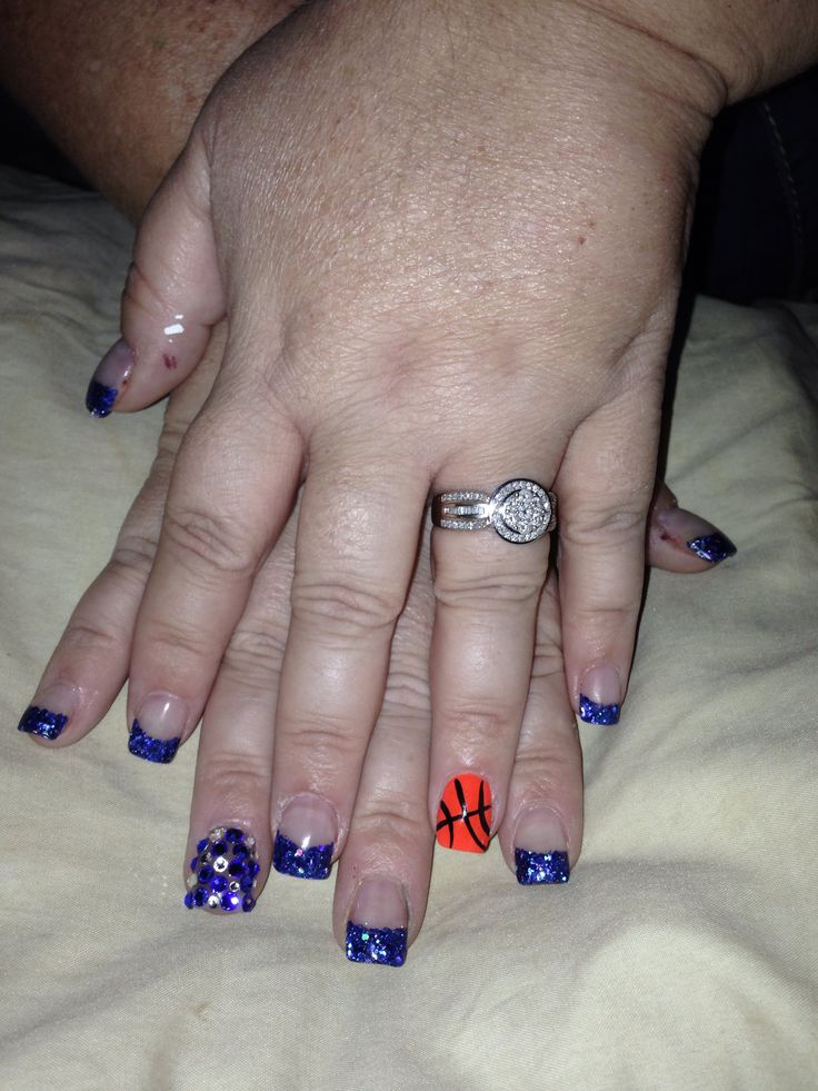 120 best March madness nails images on Pinterest | Basketball nails ...