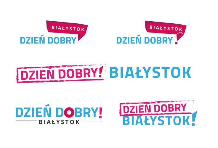 Dziendobry Bialystok Logo concepts