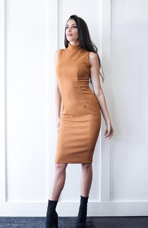 Kate Mustard Dress