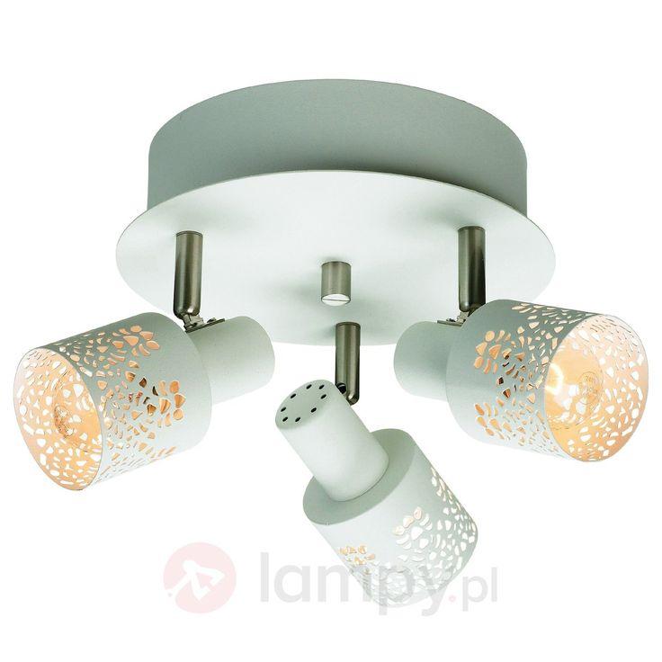 Lampa sufitowa ÖLAND z 3 reflektorami, rondo 6505414