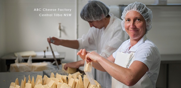 South Coast Cheese ABC Cheese Factory, Tilba NSW