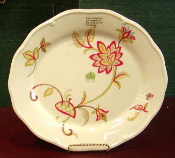 Waterford great room chamomile oval salad plate new for Great rooms com