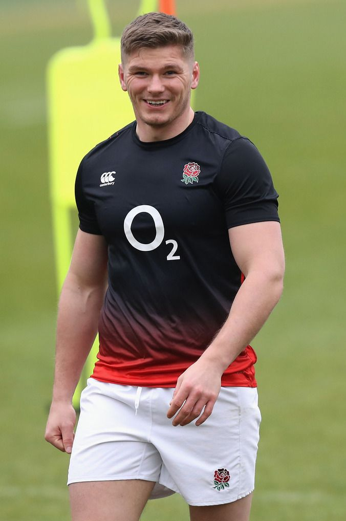 Pin By Phillipe Doan On Owen Farrell Hot Rugby Players England Rugby Team Rugby Men