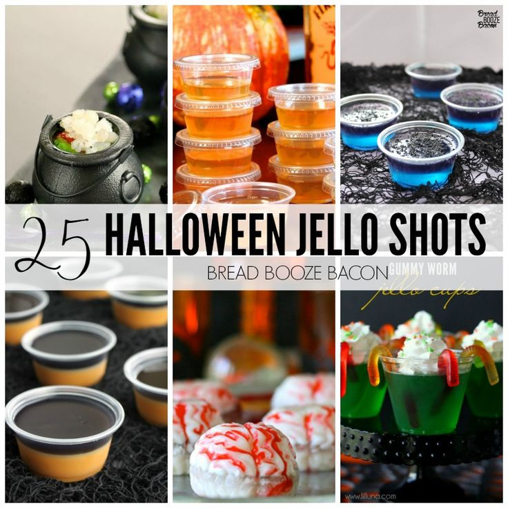 Let's get the party started with these 25 Halloween Jello Shots Recipes! We've found all kind of fun flavors, liquors, and shapes to impress your guests!