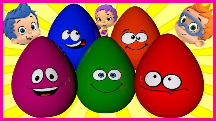 Surprise Show!!! Kinder Surprise - Bubble Guppies. Гуппи и пузырики - но...
