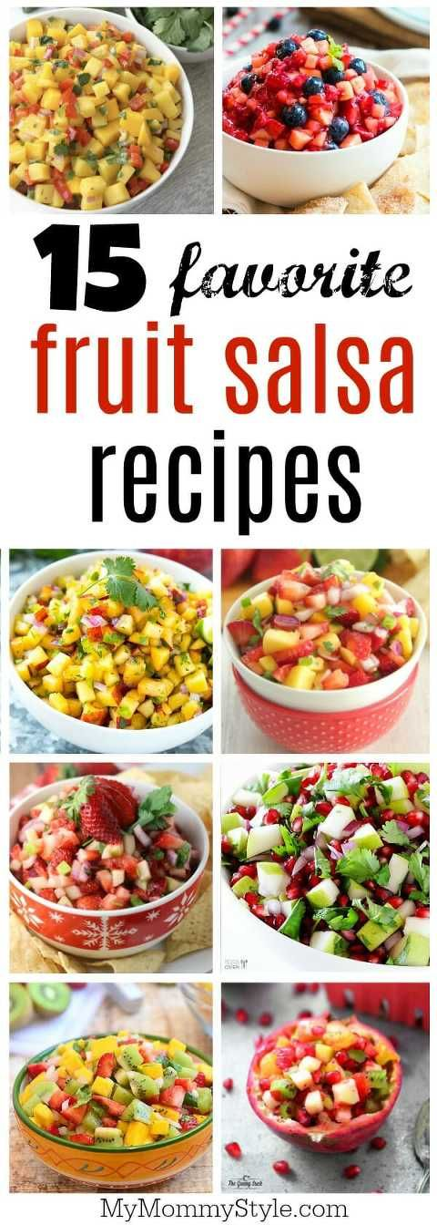 fruit salsa recipes that you will die for! These are perfect for a party or to top on a salad, chicken or fish. Such a fresh way to get in your nutrients!