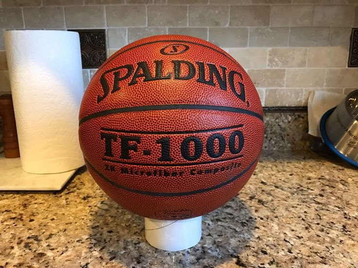 Original Spalding TF-1000 Game Ball Leather Basketball Mens 29.5 w/ Defects