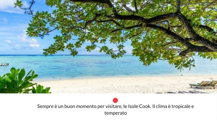 clima isole cook