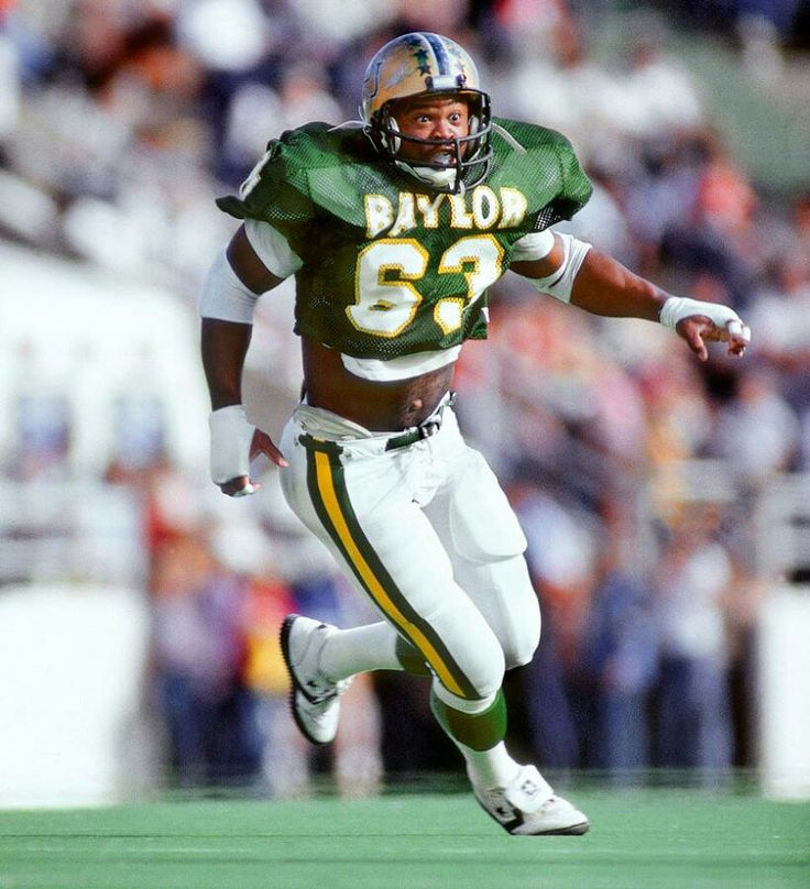 Image result for mike singletary baylor