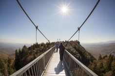 14 facts about North Carolina that will surprise you. No. 2: You can walk across the nation's highest suspension footbridge. Photo: Derek Misler