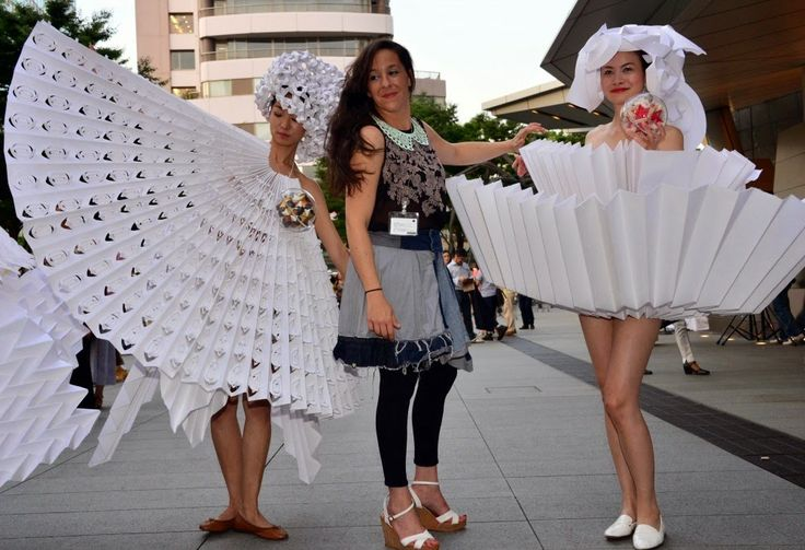 Origami Couture by Diana Gamboa #paper #fashion
