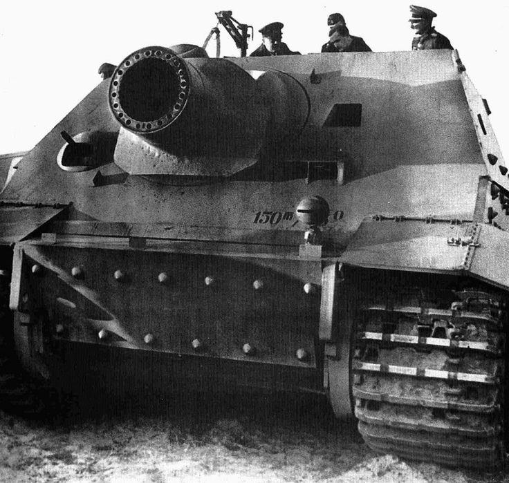 Sturmtiger - built on the Tiger I chassis , and armed with a large rocket launcher . The official German designation was : Sturmmörserwagen 606/4 mit 38 cm RW 61 . It`s primary task , was to provide heavy fire support for infantry unit`s fighting in urban area`s