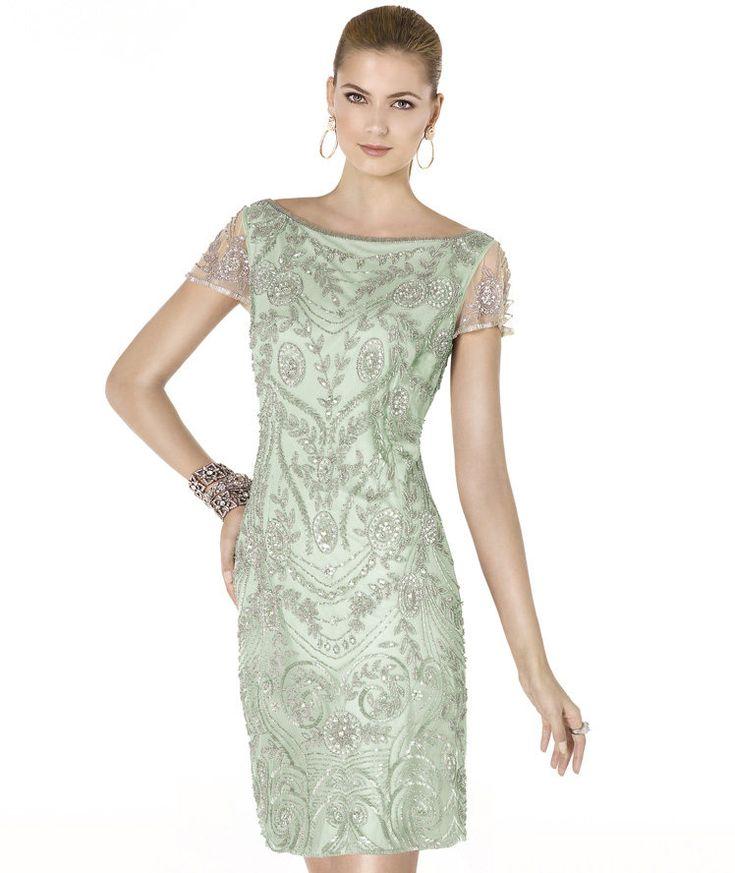 Pronovias te presenta su vestido de fiesta (coctel) ALANA de la colección Fiesta 2015.   Pronovias