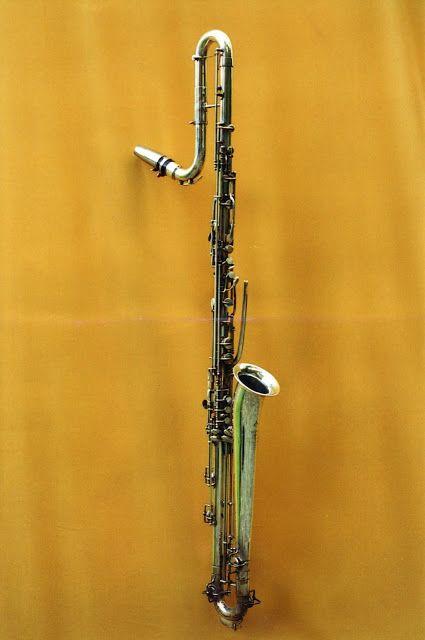 Contrabass clarinet in Bb (Buffet-Crampon,1935) | Wind ...