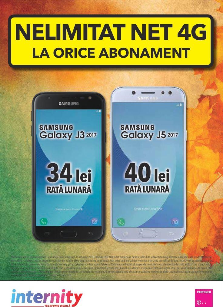 Catalog Internity Abonament cu Net 4G Nelimitat Noiembrie 2017! Oferte: Smartphone Motorola Moto C 1 leu cu abonamentul Mobil 13 sau 399 lei fara abonament