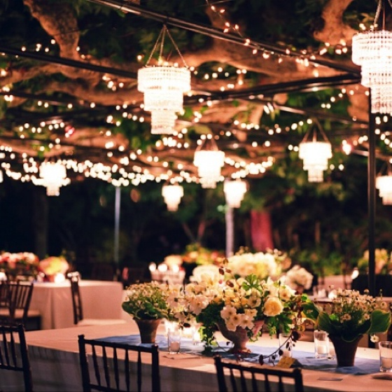 Outdoor Wedding Reception Ideas For Summer: Anything Outside And Under A Canopy Is Stunning! #wedding