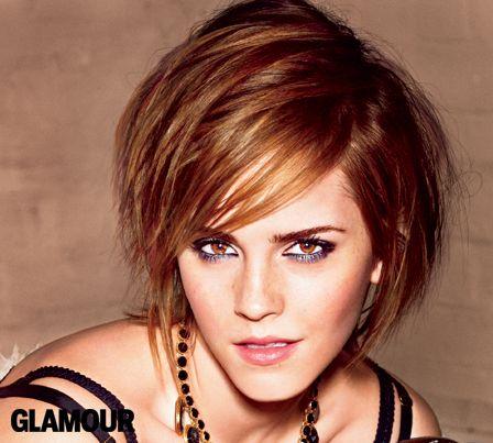 emma watson glamour haircut - photo #2