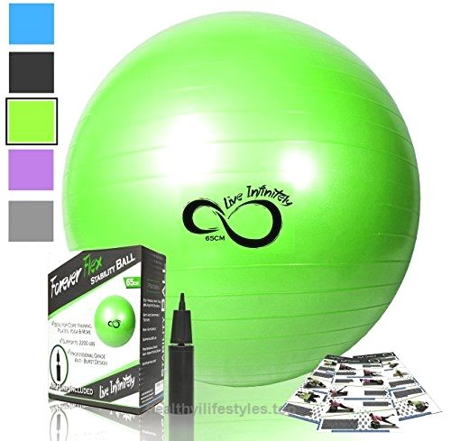 how to choose exercise stability ball sixe