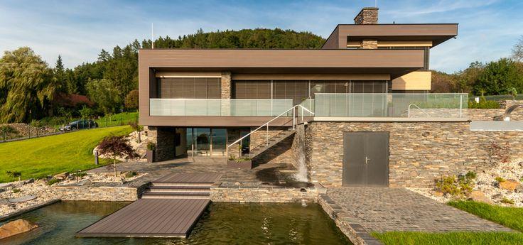 Moderne fassadenverkleidung aus holz  Premium-Fassadensysteme von Inoutic | Häuser | Pinterest ...