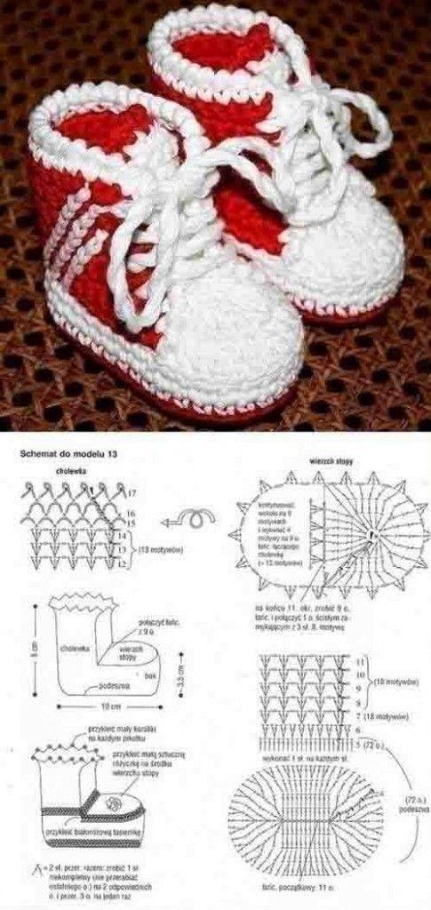 49 best Crochet sandals images on Pinterest | Baby shoes, Crochet ...