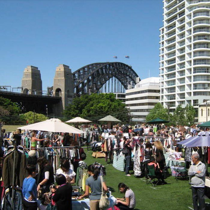 The Kirribilli Markets Is One Of Sydney S Oldest And Most Popular Markets Featuring Over 220 Stalls Selling New Recycled Fashion Marketing Fashion Marketing