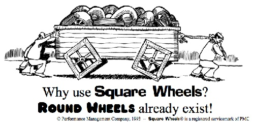 A Square Wheels Facilitation Toolkit is useful for anyone