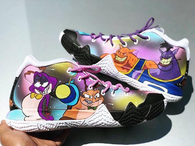 Custom shoes diy, Space jam, Painted vans