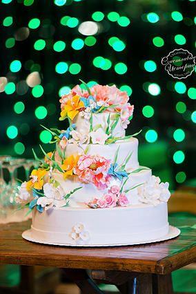 Фото свадебного торта яна и стаса