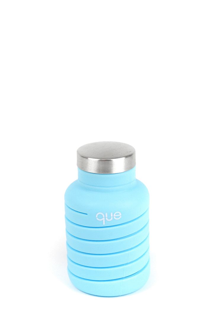 que Bottle - Collapsible water bottle / Iceberg Blue