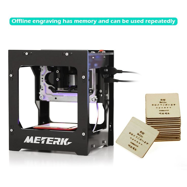 Meterk DK-8-KZ 1000mW High Speed Mini USB Laser Engraver Carver - Tomtop.com