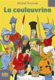 """""""La couleuvrine"""" de Michel Tournier  La citadelle de Cléricourt se rendra-t-elle aux troupes anglaises qui l'assiègent ? Le sage Faber et son fils, l'insupportable petit Lucio, vont-ils finir par s'entendre ? Jeté en prison pour avoir allumé la mèche de la couleuvrine, pourquoi Lucio en est-il triomphalement libéré ? Comment Exmoor, le commandant anglais, parvient-il à battre Faber aux échecs ?"""